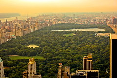 New York - Central Park (ax3l82) Tags: park new york nyc sunset ny rock top central totr