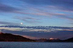 Moonrise -Tongass Narrows (Mitch Seaver) Tags: ocean sky moon seascape nature alaska night clouds forest landscape coast scenic tongassnationalforest coastline nightsky insidepassage ketchikan southeastalaska tongass tongassnarrows alaskanaturesoutheastalaskaketchikancanon