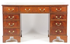 27. Georgian Double Pedestal Desk