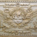 Detail of a Relief with a Cherub in the Lower Level of Bramante's Tempietto in Rome, June 2012