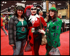 comicCon12_14sml (welbyFlikr) Tags: nyc anime comic cosplay manga harley quinn con riddler 2012 steampunk welby nycc nycc2012