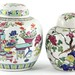 217. Two Contemporary Chinese Porcelain Urns