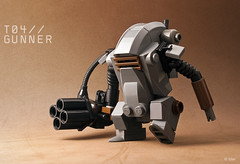 "T04 ""Gunner"" (_Tiler) Tags: lego gunner mak moc hardsuit maschinenkrieger minifigscale"