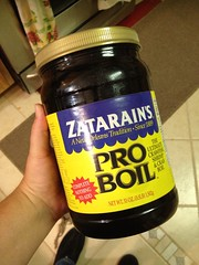 Now I just need 50lbs of crawfish (grrlscout224) Tags: crawfish boil zatarains