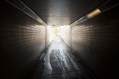 (AnnaJane20photography) Tags: light urban contrast dark subway perspective line depth ipswich linear shap reptition