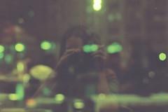 (ann_kharitonova) Tags: road city autumn light anna film girl beautiful bar lights restaurant evening cafe minolta moscow