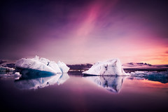 a song of ice and fire (Dennis_F) Tags: summer sky reflection ice nature water colors beautiful fog sunrise landscape island fire iceland wasser europa europe silent nebel sommer natur north norden himmel lagoon silence block iceberg polar gletscher eis landschaft isle sonnenaufgang vulcano jokulsarlon farben jkulsrln glacer vulkan erde eisberg vulcanic scholle asongoficeandfire islandic