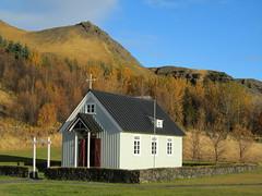 Iceland - Hvolsvollur - Skogasafn Folk Museum - Church (JulesFoto) Tags: church museum iceland autumncolours folkmuseum skogar skogasafn hvolsvollur
