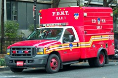 FDNY - RAC 1 (tom_hoboken) Tags: nyc ford fire manhattan fdny department cityofnewyork rac1 trruck
