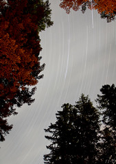 The Ghost Trails (11th Dimension Photography) Tags: longexposure sky clouds startrails lanecounty willamettenationalforest oregonlandscape
