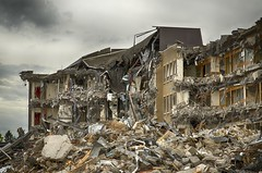 Queen Elizabeth Wing Demolition Stirling
