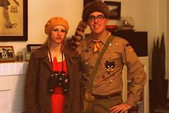 Suzy Bishop and Sam Shakusky (Josh Koonce) Tags: halloween costume kingdom anderson moonrise wes moonrisekingdom suzybishop samshakusky