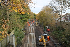 Tyne & Wear Metro: Line Closure: South Gosforth (emdjt42) Tags: southgosforth tynewearmetro
