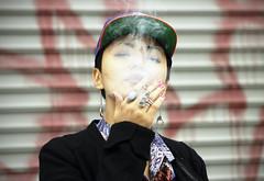 What cha looking at?   Smoking Yulia Fab Ego New York