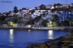 Manly at nightfall (Heaven27) Tags: water twilight manly sydney australia nsw