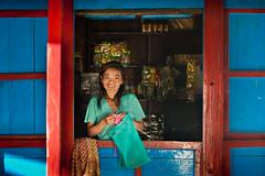 64_KAN7323 (David Ducoin) Tags: nepal woman house work asia np himalaya rai kangchenjunga taplejung limbu ducoindavid tribuducoin