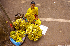 No Monkey Business (Popeyee) Tags: pictures street old portrait woman india fruits smile smiling fruit lady female canon happy photography photo flickr gallery sitting foto photographer floor image photos album indian small goa picture images banana southern bananas desi sit bild seller 2012 gallary oldgoa kela wallah yellowyellowyellow 2013 popeyee