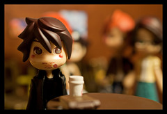 Brotherly Concern 7 (WhyDolls) Tags: boy guy café toy doll ken coffeeshop figure pinkyst pinkystreet larc~en~ciel grandcross