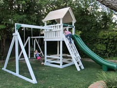 IMG_0163 (Swing Set Solutions) Tags: set play swings vinyl slide structure swing solutions playset polyvinyl
