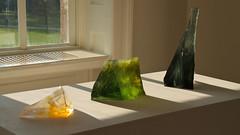 Glass Sculptures 5793 (Thorbard) Tags: travel light sculpture art gallery modernart craft hampshire reflected reflect nationaltrust coloured sculpted artsandcrafts sculpt mottisfont englanduk lousiafinch