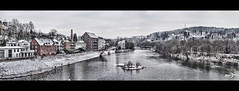 Essen-Werden, Ruhr River Panorama (Photofreaks) Tags: schnee winter panorama snow river essen district nrw ruhr ruhrgebiet nordrheinwestfalen weir ruhrpott werden northrhinewestphalia baldeneysee bestcapturesaoi adengs wwwphotofreaksws shopphotofreaksws