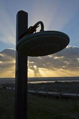 The Shower (jaocana76) Tags: sunset espaa beach atardecer spain playa andalucia cdiz tarifa loslances straitsofgibraltar campodegibraltar playadeloslances canon1635 canoneos7d mygearandme juanantonioocaa jaocana76 estrechodegbraltar