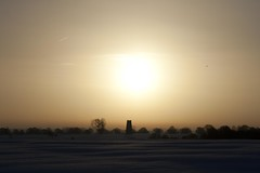 Sunrise 26th January 2013 (mark_fr) Tags: york sunset sea sky sun set sunrise volcano maple view market yorkshire hill north estuary vale east dust rise volcanic mere beverley humber hornsea weighton beeford lissett molescroft