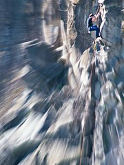 balls... ((rino)) Tags: italy man photo rocks risk balls climbing rockclimbing courage rino