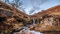 Where dreams are made... [EXPLORED] (Raven Photography by Jenna Goodwin) Tags: waterfall water beauty beautiful longexposure england photography photo dreams love landscape challengegamewinner clear day