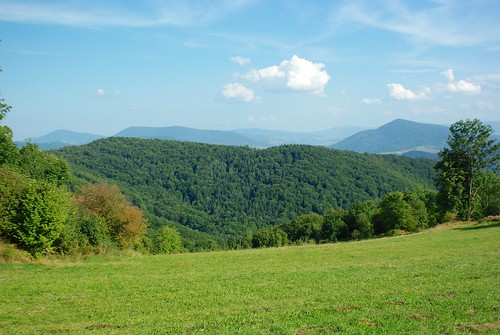 243/366: Beskid Wyspowy from southern slopes of Kotoń