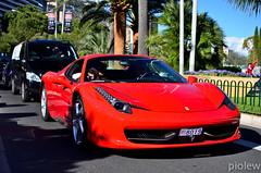 Ferrari 458 Spider (piolew) Tags: red italia top forum ferrari monaco carlo monte marques 2012 grimaldi 458