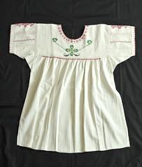 Talea Blouse Zapotec Oaxaca Mexico (Teyacapan) Tags: clothing mexican embroidered prendas oaxacan blouses zapotec blusas talea