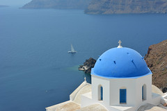 Oia, Santorini (cpcmollet) Tags: summer greece grecia oia santorini color sea aegean landscape paisaje cyclades paradise arquitectura architecture mediterranean island greek light beauty awesome nikons europa europe village serenity
