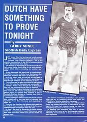 Scotland vs Holland - 1982 - Page 22 (The Sky Strikers) Tags: scotland holland netherlands official programme hampden park glasgow 60p international friendly