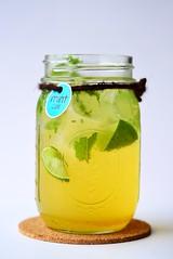 น้ำมะนาวโมฮิโต้ เครื่องดื่มสุดฮิปของร้านMint Cafe by Peppermintfield