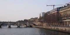 (procrast8) Tags: paris france river seine pont neuf bridge