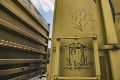 (o texano) Tags: houston texas graffiti trains freights bench benching moniker soak