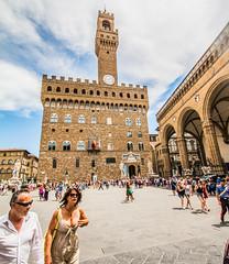 Florence (ArtinArt) Tags: churches florence italy bw blackandwhite pontevecchio colors firenze italien bridges squares buildings houses