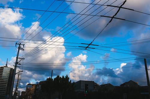 Sky over City