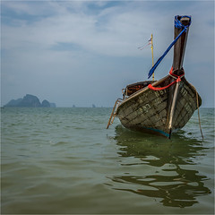 A boat ;) (alphachim) Tags: thailand aonang krabi andamanensee longtailboat meer sonya77markii sony1650