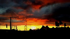 Festival sunset (Thebeardedchef82) Tags: boardmaster newquay sky cloud sunset festival