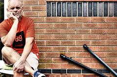 """In a very orange mood ! (CJS*64 """"Man with a camera"""") Tags: orange mood sat sit me selfi sundaymorning sunday dslr d7000 nikon nikkorlens nikkor nikond7000 35mmlens 35mm18lens people relaxed"""