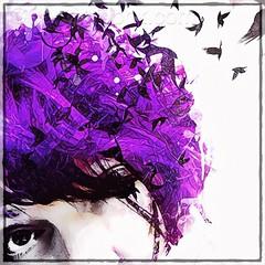 Self portrait - Mind the gap (sand625) Tags: digitalart mobile iphone selfie birdbrain mentalhealth repixapp prismaapp