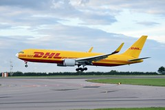 East Midlands Airport 31st August 2016 (sirlordio) Tags: ryanair avgeek sev eisev 737700 hondajet dhlaviation airbus a300 boeing 737 767 embraer erj145 flybe dash8 ups bluebird cargo thomson