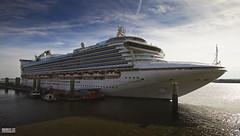 Carribean Princess (Mark Holt Photography - 5 Million Views (Thanks)) Tags: carribeanprincess princesscruises clt cruiseliverpool cruiselinerterminal cruiseliners cruiseships liverpool