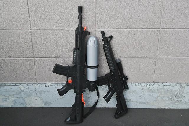 強力な水鉄砲おすすめ人気ランキングTOP3・口コミ・種類