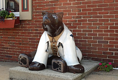 Doctor Bear (MTSOfan) Tags: bear sculpture art boyertown doctor patient bearfever