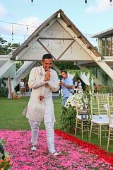 Yusuf & Saira's Wedding (yohanawu) Tags: wedding party beach seaside pernikahan pesta pantai bali villa seminyak indonesia sunset international love cinta kasih akad nikah groom happy bride bestman