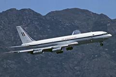 BOEING 707-338C A20-627 RAAF (shanairpic) Tags: jetairliner hongkong kaitak military b707 boeing707 raaf royalaustralianairforce a20627
