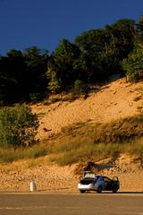 Warren Dunes State Park Michigan 7405 (www.cemillerphotography.com) Tags: sand hills westernmichigan harborcountry sawyer marramgrass forest lakemichigan greatlakes wind waves water interdunal wetlands swamps pools ponds plants shoreline freshwater beach foredune linear parabolic transverse landscape sculpted bluff perched blowout backdune erosion bluestem cottonwood lagzone glacial moraine deposit